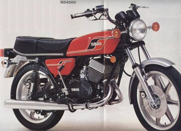 Yamaha RD400  The Model Guide
